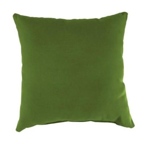 Jordan Manufacturing Sunbrella Spectrum Cilantro Square Outdoor Throw Pillow