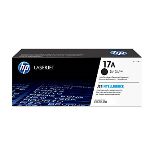 HP LaserJet 17A High-Yield Black Toner Cartridge (CF217A)