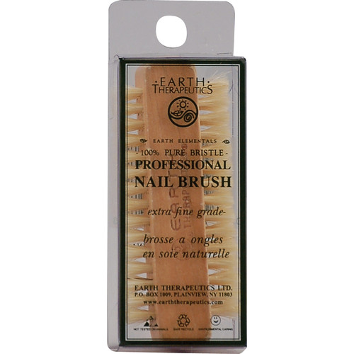Earth Therapeutics Mani+Cure Nail Brush -- 1 Brush