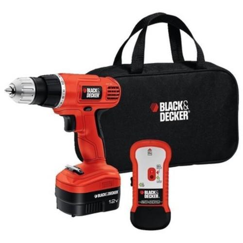 BLACK+DECKER Black & Decker 12V Drill with Stud Finder