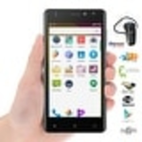 Indigi 5.6-inch QuadCore 4G LTE Unlocked Android 6 Google Smartphone + Bluetooth Included - Black