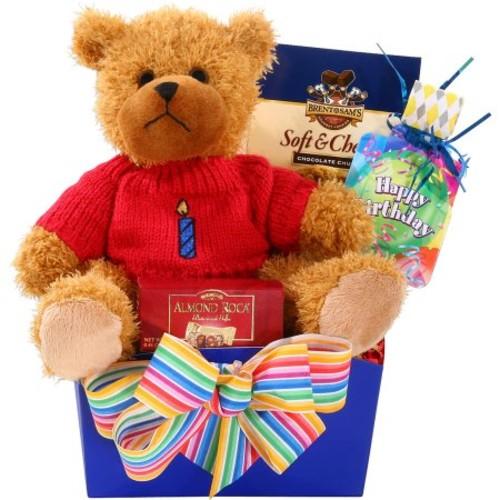 Alder Creek Happy Birthday Gift Basket, 5 pc