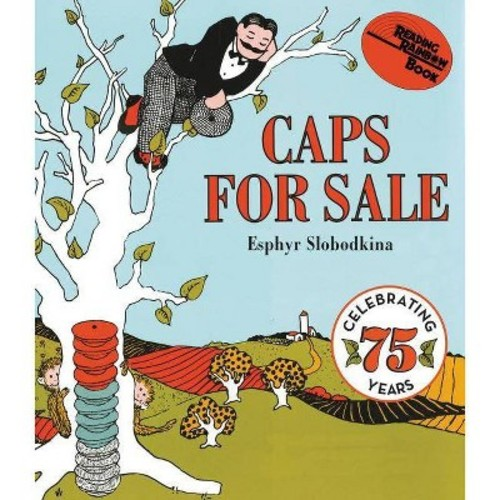 Caps for Sale (Board) by Esphyr Slobodkina