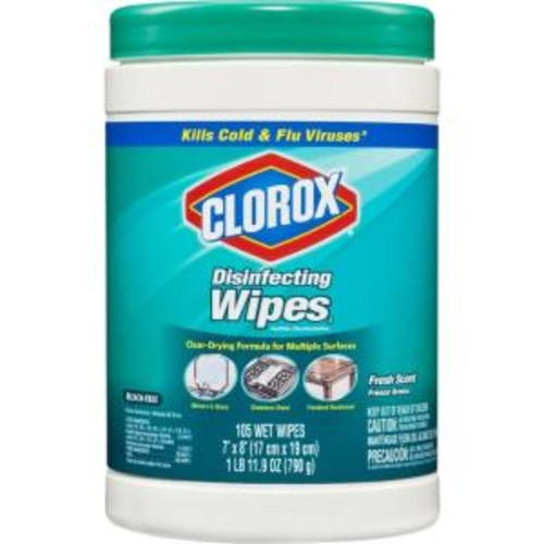 Clorox Fresh Scent Disinfecting Wipes (105-Count)
