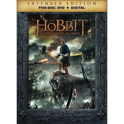 The Hobbit: The Battle of the Five Armies [Extended Edition] [DVD] [2014]