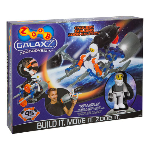 ZOOB 45-pc. Galaxz ZOOBodyssey Kit