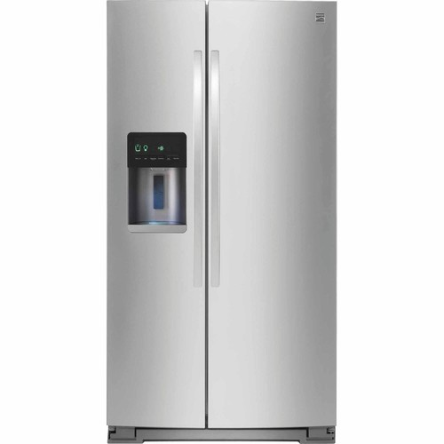 Kenmore 51783 21 cu. ft. Side-by-Side Refrigerator - Stainless Steel