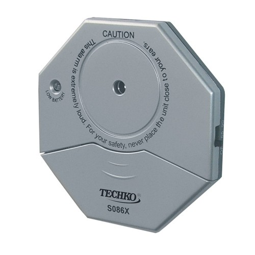 Techko S086X Vibration Entry Alarm, Ultra Slim Design