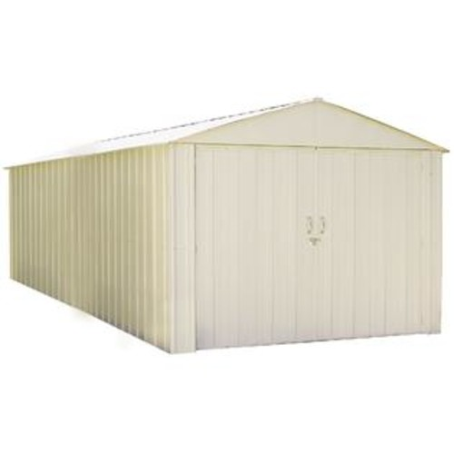 Arrow Commander Hot Dipped Galvanized Steel Shed Utility Building (10' x 20')