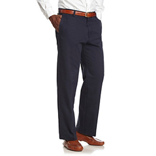 Izod Men's American Chino Straight Fit Flat-Front Pants
