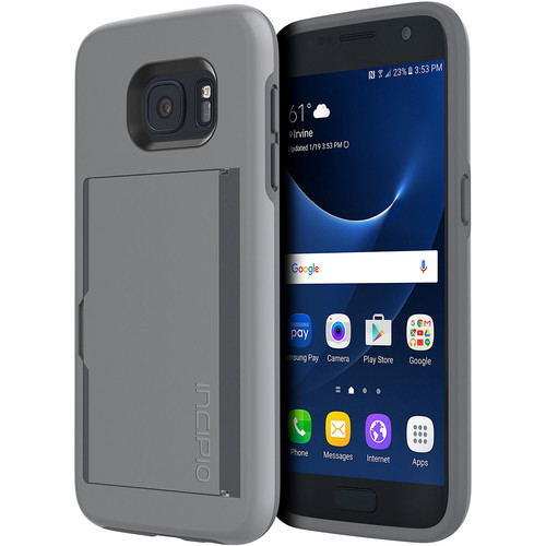 STOWAWAY Case for Galaxy S7 (Gray)