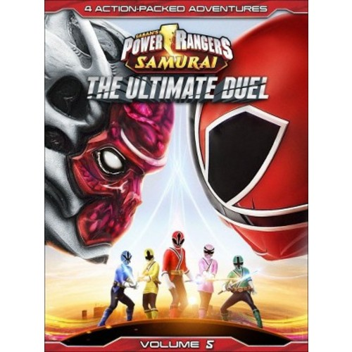 Power Rangers Samurai, Vol. 5: The Ultimate Duel (dvd_video)
