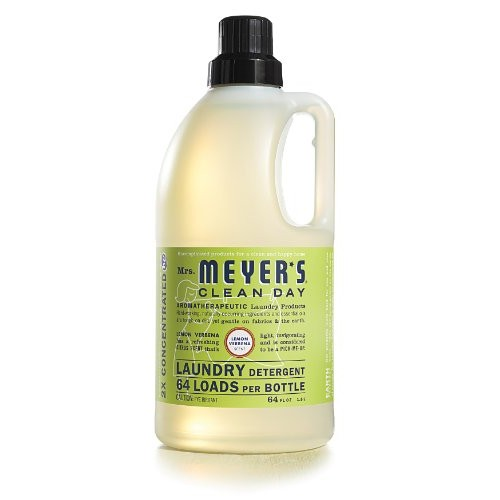 Mrs. Meyer's Clean Day Laundry Detergent, Lemon Verbena, 64 fl oz [Lemon Verbena]