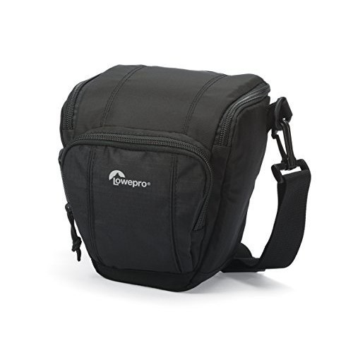 Lowepro Toploader Zoom 50 AW II Camera Case for DSLR and Lens, Black [Black, 50 AW]