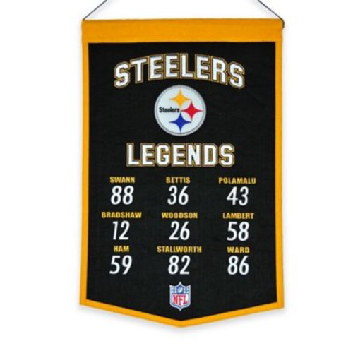 NFL Pittsburgh Steelers Legends Banner