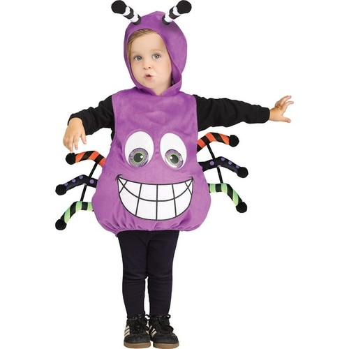 Infant Googly Eye Spider Costume Up to size 24 Months - one size (up to 24 months)