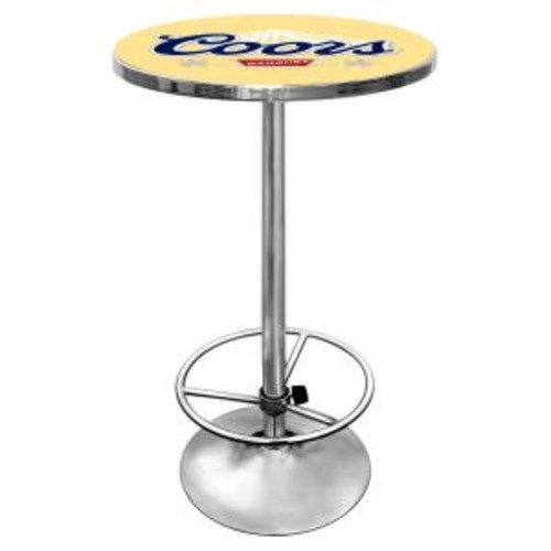 Trademark Coors Chrome Pub/Bar Table