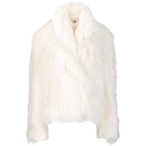 STELLA MCCARTNEY Oversized Faux-Fur Jacket