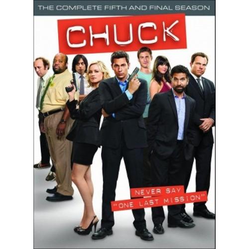 Chuck: The Complete Fifth Season [3 Discs] [DVD]