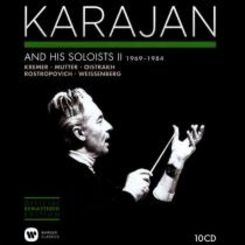Karajan and His Soloists, Vol. 2 (1969-1984) [CD]
