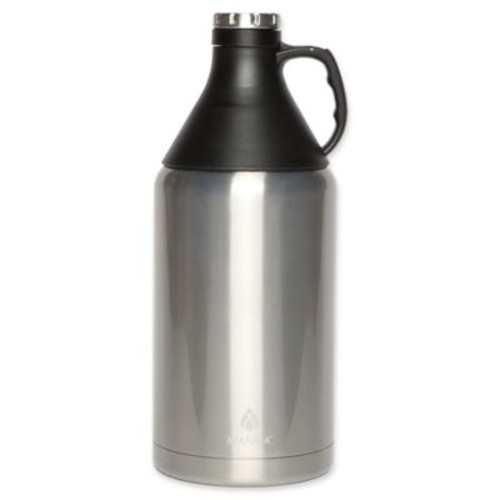 Manna 64 oz. Apex Stainless Steel Insulated Growler with Detachable Cone Cup
