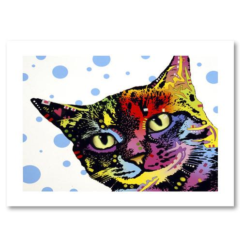 Dean Russo 'The Pop Cat' Paper Art