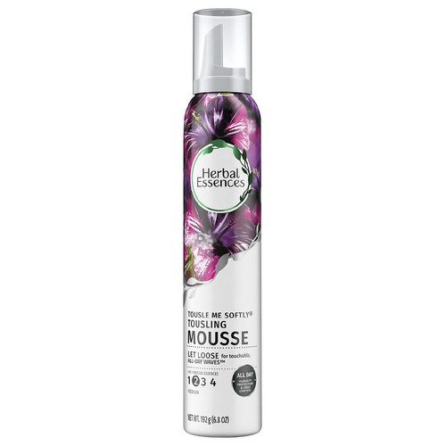Herbal Essences Tousle Me Softly Tousling Hair Mousse Hibiscus