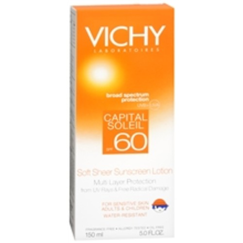 Vichy Capital Soleil Soft Sheer Face and Body Sunscreen Lotion SPF 60