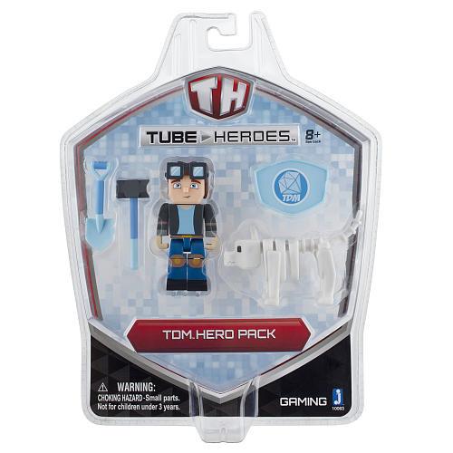 Tube Heroes Action Figure Hero Pack - The Diamond Minecart