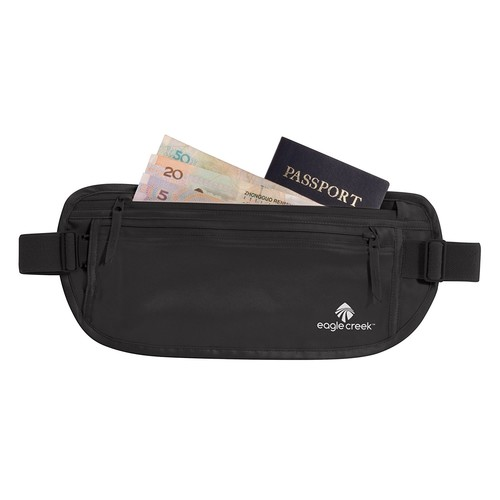 Eagle Creek Travel Gear Silk Undercover Money Belt [Black]