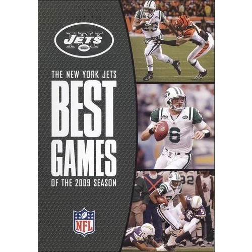 NFL: The New York Jets - Best Games of the 2009 Season [3 Discs] [DVD] [2009]