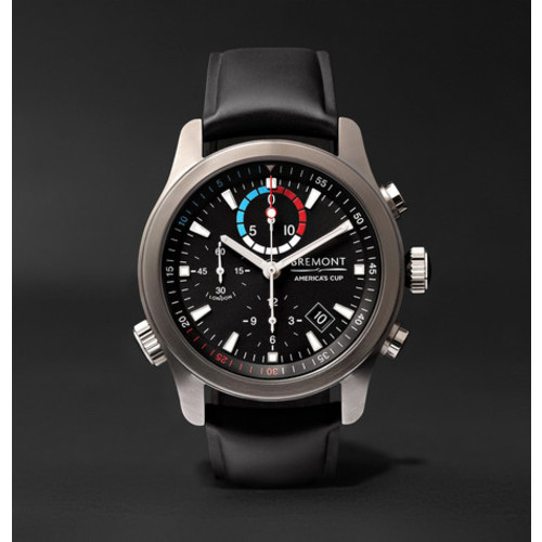Bremont - AC-R-II America's Cup Regatta Chronograph 43mm Stainless Steel and Rubber Watch