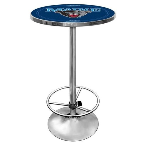 Trademark University of Maine Chrome Pub/Bar Table
