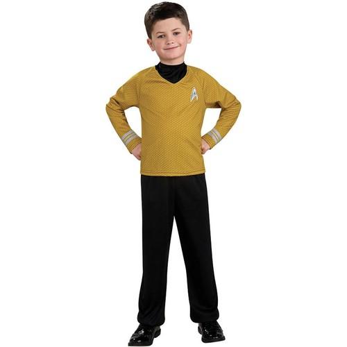 Star Trek Captain Kirk Costume Child Medium