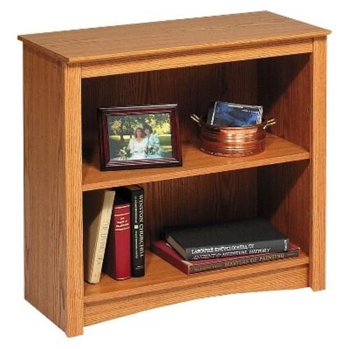 Prepac Oak Open Bookcase