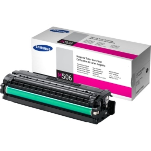 SAMSUNG PRINTER CONSUMABLES Samsung CLT-M506S Toner Cartridge - Red. MAGENTA TONER FOR CLP-680ND CLX-6260FD CLX-6260FW 1.5K YIELD. Laser - 1500 Page