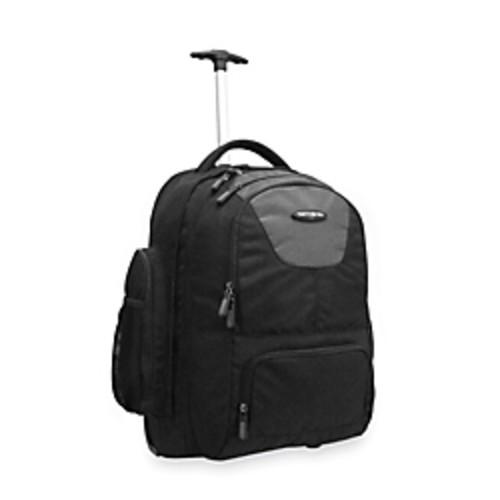 Samsonite Wheeled Backpack, Charcoal/Black