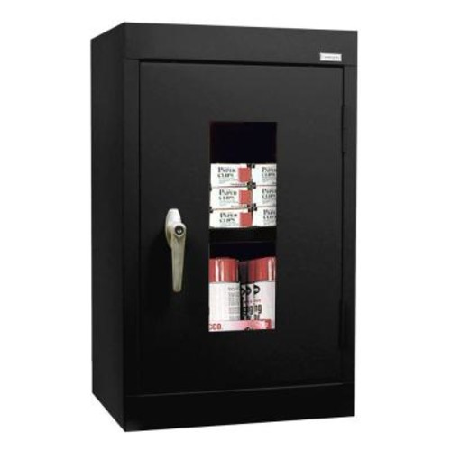 Black Wall Mount Storage Cabinet, 26