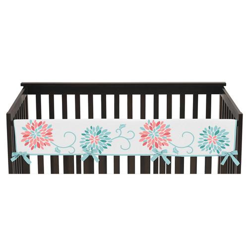 Sweet Jojo Designsfor Emma Collection Long Crib Rail Guard Cover