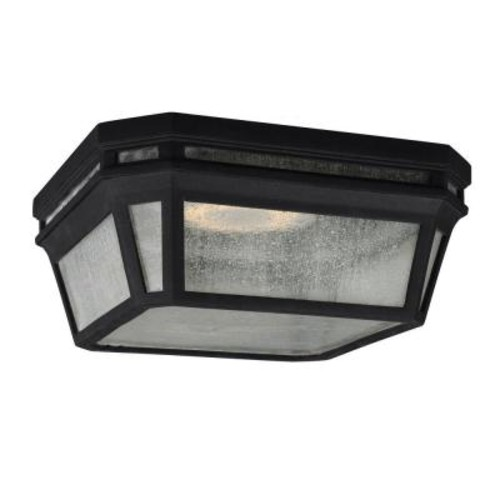 Feiss Londontowne 2-Light Black Outdoor Ceiling Fixture