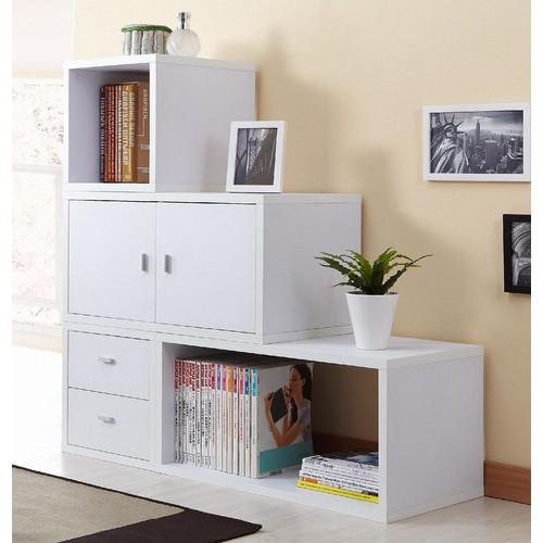 Furniture of America Wiltans White Storage Cabinet