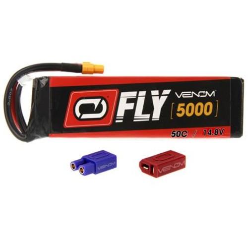 Venom Fly 50C 4S 5000mAh 14.8V LiPo Battery with UNI 2.0 Plug 25046