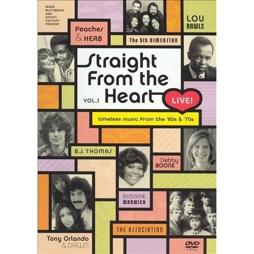 Straight From The Heart Live, Vol. 1: Dionne Warwick, B.J. Thomas, Debby Boone, Peaches & Herb, The 5th Dimension, Tony Orlando & Dawn, Lou Rawls, The Association: Movies & TV