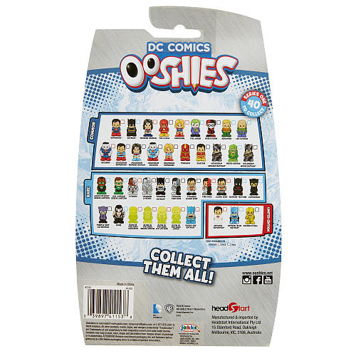 DC Comics Ooshies Series 1 7 Pack Pencil Toppers - Justice League