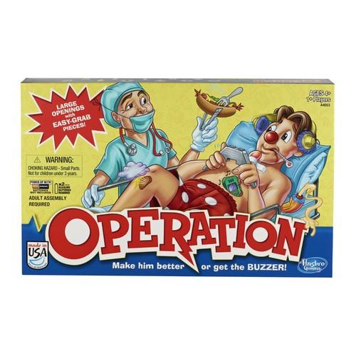 Hasbro Operation Board Game