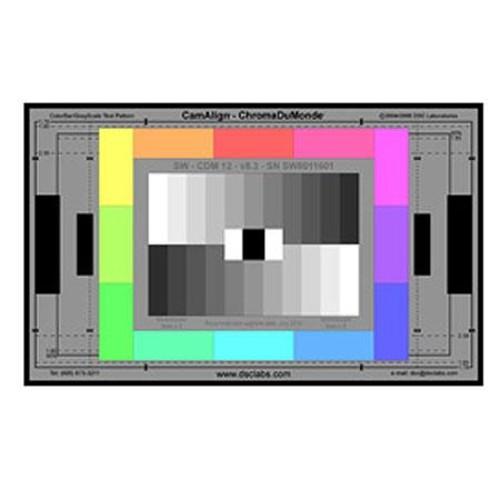 DSC Labs ChromaDuMonde 12 Senior CamAlign Chip Chart, 24x14.7