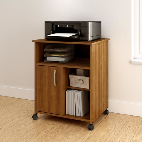 South Shore Axess Morgan Cherry Storage System