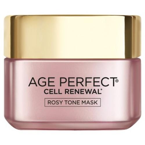 L'Oral Paris Age Perfect Cell Renewal Rosy Tone Mask - 1.7 fl oz