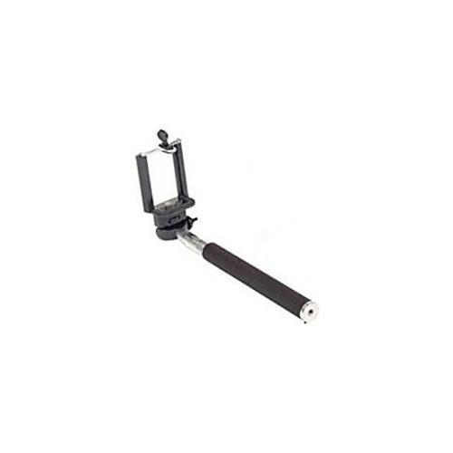 Worryfree Gadgets (MONOPOD-BLACK) Myepads Selfie Stick, Portable, Black