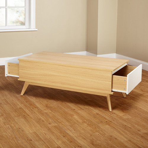Simple Living Coffee, Console, Sofa & End Tables Simple Living Selena Two Drawer Coffee Table